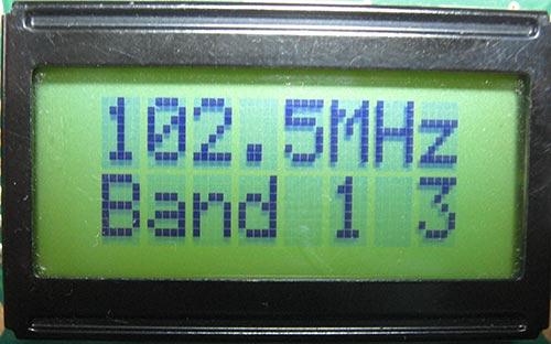 УКВ-приемник с цифровой обработкой принимаемого сигнала и индикацией частоты