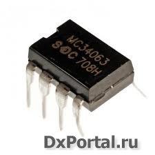 Расчет DC-DC преобразователей на микросхемах MC34063